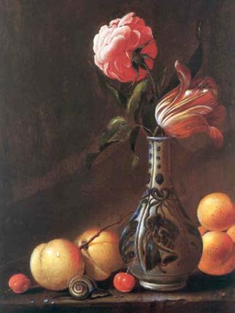 Evert van Aelst - Flower still life by Evert van Aelst.