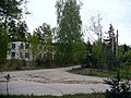 Ex-Soviet army rocket-base near Zālīte. Central yard. Buildings are conserved, some buildings are in use as warehouses etc. May, 2009 - panoramio.jpg