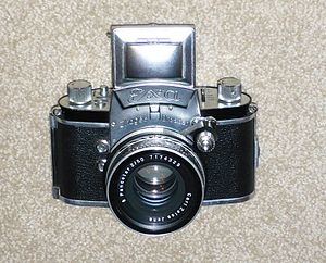 Single-lens reflex camera - Original Ihagee Exakta Exa Single lens reflex