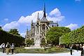 Exterior of the apse of Notre-Dame de Paris, 20 April 2014.jpg