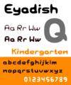 Eyadish-font-plain 512.png