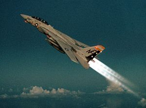 F-14A VF-2 climbs with afterburners 1989.jpg