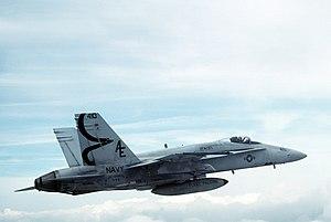 VFA-137 - Image: F 18A VFA 137 1991