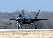 The F-35 Lightning II will replace the BAE Harrier II aboard the United Kingdom's Queen Elizabeth class aircraft carriers,  expected by 2014.