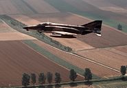 F-4E 480th TFS over Germany 1982