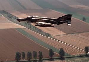 480th Fighter Squadron - A 480th TFS F-4E, 1982.