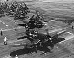 F4U-4B of VF-54 on USS Valley Forge (CV-45) in 1950.jpg
