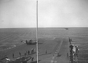 VF-51 - F9F-2s launching from the USS Essex in 1951