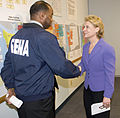 FEMA - 34058 - FEMA official meets with Washington Governor Gregoire.jpg