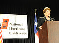 FEMA - 40603 - FEMA Acting Administrator Nancy Ward at the podium at the National Hurricane Conference.jpg