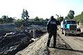 FEMA - 43324 - FEMA employee at Pickins yard in California.jpg