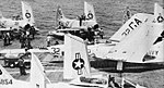 FJ-3 Furies of VF-73 and VF-173 aboard USS Randolph (CVA-15), circa in 1957.jpg