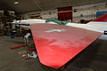 Fairchild SM-73 Bull Goose AboveLWing Restoration NMUSAF 25Sep09 (14413736830).jpg