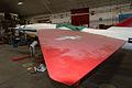 Fairchild SM-73 Bull Goose AboveLWing Restoration NMUSAF 25Sep09 (14413736830).jpg