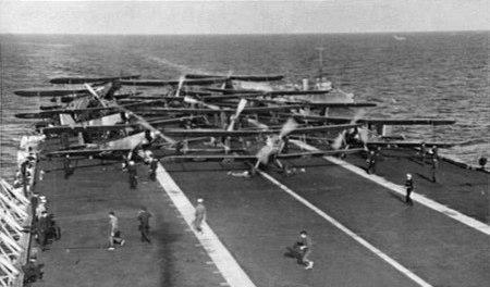 Fairey Seals on HMS Glorious 1936
