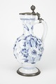 Fajans, kanna med lock, 1700-tal - Hallwylska museet - 90462.tif