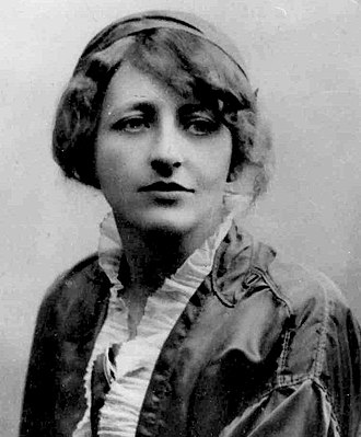 "Bohemian style - Franziska Countess zu Reventlow, undated photo, the ""Bohemian Countess"" of Schwabing"