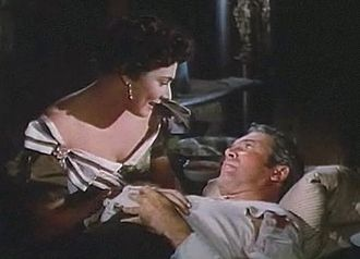 The Far Country - Ruth Roman and James Stewart
