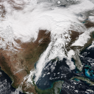 February 2016 North American winter storm - The extratropical cyclone responsible for the winter storm at 16:00 UTC (11:00 a.m EDT) on February 2, 2016 over the Upper Midwest