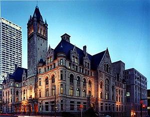 United States v. Progressive, Inc. - Image: Federal Building and U.S. Courthouse, Milwaukee, WI Aug 03