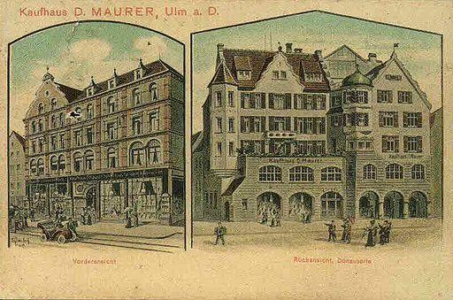 Felle Ulm Kaufhaus Maurer
