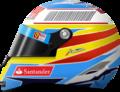 Fernando Alonso 2010 F1 Helmet Drawing.png
