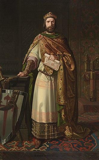 Ferdinand II of León - Imaginary portrait of Ferdinand II by Isidoro Lozano.