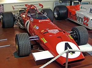 Ferrari 312B - A 1970 Ferrari 312B.