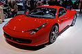 Ferrari 458 Italia - Mondial de l'Automobile de Paris 2012 - 002.jpg