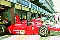 Ferrari garage 1994 Silverstone.jpg