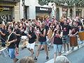 Festa Major de Gràcia 2011 - XIII cercavila de cultura popular - carrer Gran P1330051.jpg