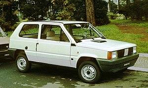 Fiat Panda - a pre-facelift Panda Super