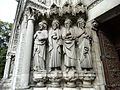 Figures in Doorway, St. Finbarre's Cathedral, Cork City..JPG