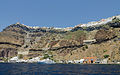Fira and crater rim seen from the caldera - Santorini - Greece - 02.jpg