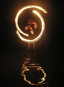 Fire dancing in the water 20060623 TVR.jpg