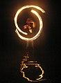 Fire dancing in the water 20060623 TVR.jpg