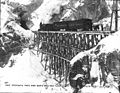 First passenger train of the White Pass & Yukon Railroad en route to the summit, Alaska, February 20, 1899 (HEGG 496).jpeg