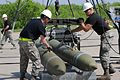 First quarterly bomb build competition showcases skills of 7th MUNS Airmen 160429-F-NC441-064.jpg