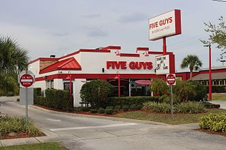 Five Guys - Five Guys at Merritt Island, Florida
