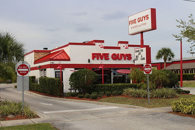 Five Guys Miami Beach Fl