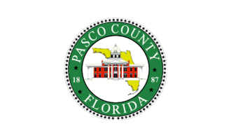 Pasco County, Florida - Image: Flag of Pasco County, Florida