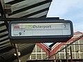 Flapskilt København H - Line Bx for Østerport.jpg