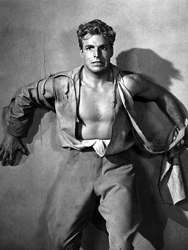 Buster Crabbe in zijn rol als Flash Gordon