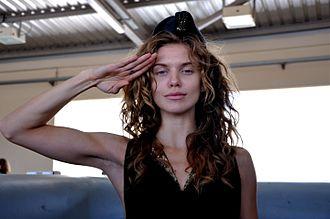 AnnaLynne McCord - McCord visiting the Palmachim Airbase in Israel, 2012