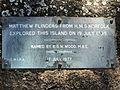 Flinders' Landing Norfolk Beach Memorial, Coochiemudlo Island 4.jpg