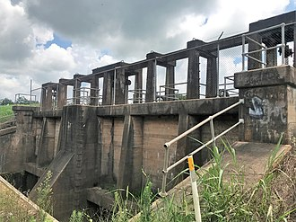 National Register of Historic Places listings in Avoyelles Parish, Louisiana - Image: Floodgate 1