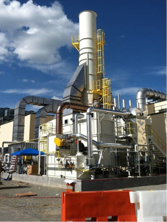 Fluidized bed concentrator - A Fluidized Bed Concentrator for VOC control at Honda Manufacturing of Alabama.