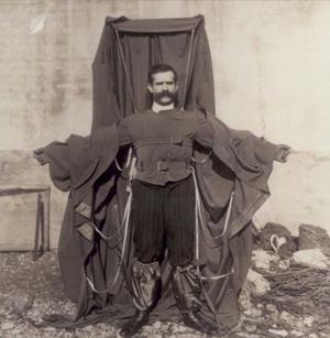 Franz Reichelt - Image: Flying tailor