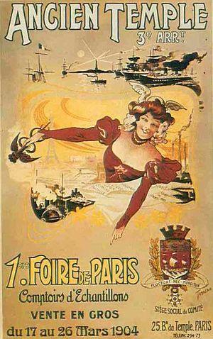 Foire de Paris - 1904 poster