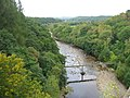 Footbridge over the South Tyne from Lambley Viaduct - geograph.org.uk - 982120.jpg